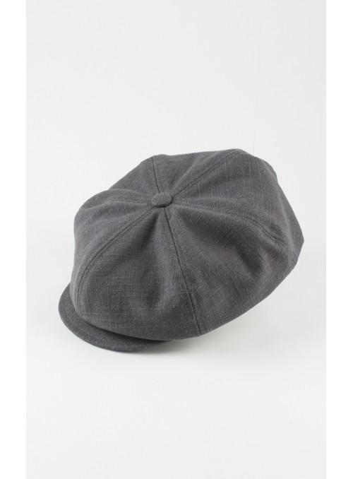 Cap Samu - Linen, grey